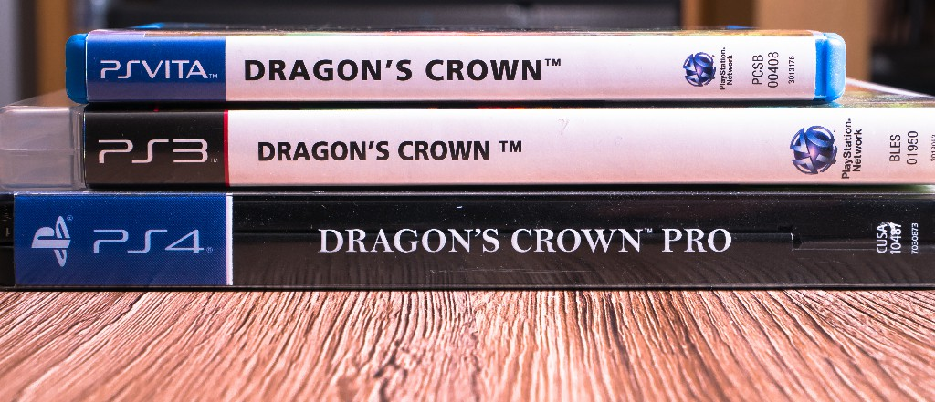 Dragons Crown Spine